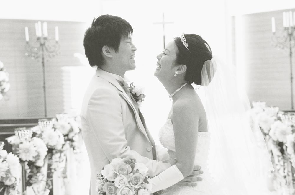 結婚式のチャペルの写真